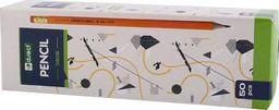 D.Rect Ołówek HB 7405 drewniany z gumką (50szt) D.RECT