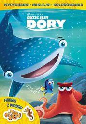 Gdzie jest Dory. Wypychanki, naklejanki...