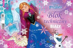 Blok biurowy Beniamin Blok techniczny A4/10K biały Frozen