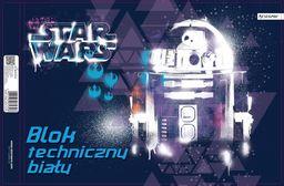Blok biurowy Beniamin Blok techniczny A4/10K biały Star Wars