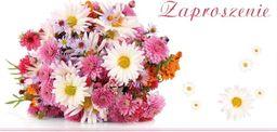 Stamp Zaproszenia Flowers nr 02 (opakowanie 10 szt)