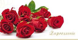 Stamp Zaproszenia Flowers nr 03 (opakowanie 10 szt)