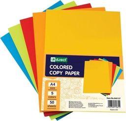 D.Rect Papier ksero A4 mix kolorów 250 arkuszy