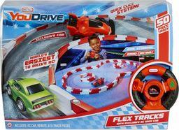 Little Tikes YouDrive Flex Tracks - Samochód wyścigowy