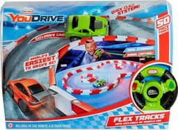 Little Tikes YouDrive Flex Tracks - Zielony Muscle Car