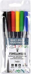 Koh-I-Noor Cienkopisy 6 kolorów