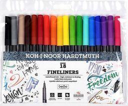 Koh-I-Noor Cienkopisy 18 kolorów