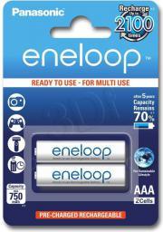 Panasonic Akumulatorki Eneloop R03/AAA 750mAh – 2 szt. (BK-4MCCE-2BE)