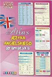 Ilustrowany atlas szkolny. Atlas j.ang. gramatyka