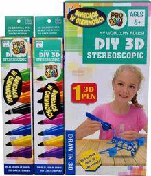 Pro Kids Długopis 3D Zestaw podstawowy świecący w ciemności
