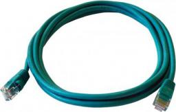 ART Patch cord 1m zielony UTP 5e (KABSI PATCH ART AL-OEM-300G)