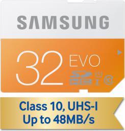Karta pamięci Samsung SDHC EVO 32GB Class 10 UHS-1 (MB-SP32D/EU)