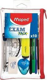 Maped Zestaw w saszetce Exam 10 elementów MAPED