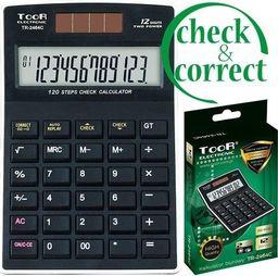 Kalkulator Toor Electronic Kalkulator biurowy 12-pozycyjny TR-2464C TOOR