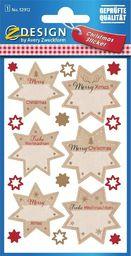 Zdesign Naklejki świąteczne - Gwiazdy na życzenia