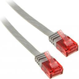 InLine 5m - kabel sieciowy U/UTP - 1000 Mbit - Cat.6 - RJ45 - szary (71605)