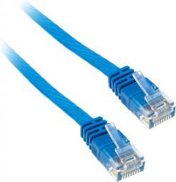 InLine 5m - kabel sieciowy U/UTP - 1000 Mbit - Cat.6 - RJ45 - niebieski  (71605B)