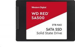 """Dysk SSD Western Digital Red SA500 2TB 2,5"""" SATA3 (WDS200T1R0A)"""