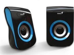 Głośniki komputerowe Genius SP-Q180 Czarno-niebieskie (31730026403)