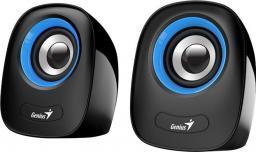 Głośniki komputerowe Genius SP-Q160 Czarno-niebieskie (31730027403)