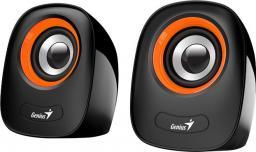 Głośniki komputerowe Genius SP-Q160 Czarno-pomarańczowe (31730027402)