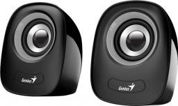 Głośniki komputerowe Genius SP-Q160 Czarno-szare (31730027400)