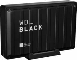Dysk zewnętrzny Western Digital HDD D10 Game Drive 8 TB Czarny (WDBA3P0080HBK-EESN)