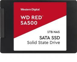 Dysk SSD Western Digital Red SA500 1 TB 2.5'' SATA III (WDS100T1R0A)