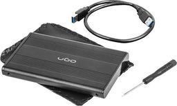 """Kieszeń UGO Obudowa na dysk UGO Marapi S130 USB 3.0 SATA III 2,5"""" aluminium czarna"""