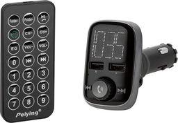 Transmiter FM PeiYing Transmiter FM Peiying URZ0465 Bluetooth 1.56' USB, SD/MMC, MP3/WMA