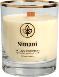 Artman Organic świeca zapachowa z drewnianym knotem Simani 1 sztuka (980190)