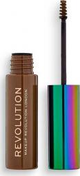 Makeup Revolution Żel do brwi High Brow Gel with Cannabis Sativa Ash Brown 6ml