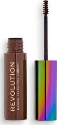 Makeup Revolution Żel do brwi High Brow Gel with Cannabis Sativa Medium Brown 6ml
