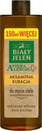 Biały Jeleń Apteka Alergika Aksamitna kuracja do mycia ciała 400ml