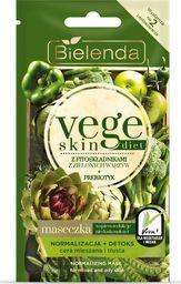 Bielenda Maseczka do twarzy Vege Skin Diet Normalizacja + Detoks 8g