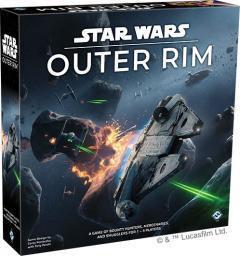Fantasy Flight Games Gra planszowa Star Wars: Outer Rim (edycja angielska)