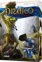 Rebel Gra planszowa Drako: Rycerze i Trolle