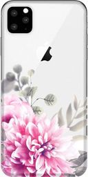 CaseGadget CaseGadget ETUI NADRUK JASNE KWIATY IPHONE 11 PRO MAX standard