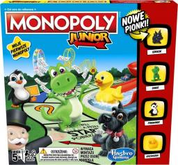 Winning Moves Monopoly Junior z nowymi pionkami!