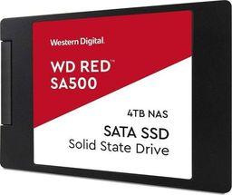 Dysk SSD Western Digital Red SA500 4 TB 2.5'' SATA III (WDS400T1R0A)