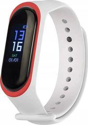 Smartband Roneberg R3S Biało-czerwony