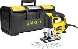 Stanley wyrzynarka 710W + 10 brzeszczotów + skrzynia (FME340ST10-QS)