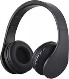 Słuchawki Roneberg Nauszne słuchawki bezprzewodowe RH-811 : KOLOR - CZARNY