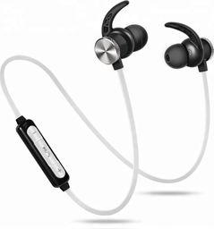 Słuchawki Roneberg Douszne bezprzewodowe słuchawki do biegania RLY1 : KOLOR - BIAŁY