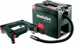 METABO odkurzacz 18V walizkowy, bez akumulatorów i ładowarki, podstawa jezdna SET AS 18 L PC (691060000)
