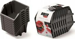 Prosperplast Kuwety  6 Bineer Short 10 sztuk czarne 206x118x144mm (NPNS8S-S411)