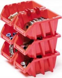 Prosperplast Kuwety 12 Bineer Long 6 sztuk czerwone 295x198x195mm (NPNL12S-R444)