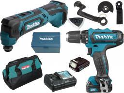 Makita  zestaw combo 10,8V CLX206X2, DF331D+TM30D 2x1,5Ah (CLX206X2)