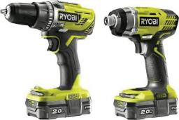 Ryobi zestaw powerpack 18V R18DDID-220S R18DD3+RID1801 2x2,0Ah (5133003577)