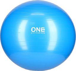 One Fitness Piłka do ćwiczeń Gym Ball 10 65cm blue